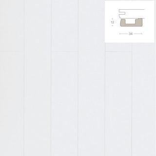 PARADOR Deckenabschlussleiste DAL 3 Seidenmatt Weiss Dekor