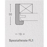 PARADOR Spezialleisten für Dekor-Paneele Esche weiß glänzend-FL1