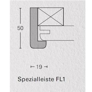 PARADOR Spezialleisten für Dekor-Paneele Esche weiß-FL1