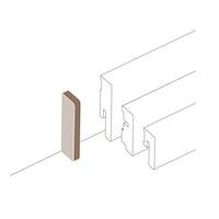 PARADOR Abschlusskappen Typ 2 für Steckfußleiste SL 3/5/6 und 18