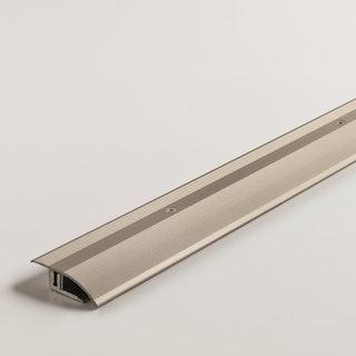 PARADOR Anpassungsprofil Aluminium eloxiert Silber/Edelstahl, 100cm