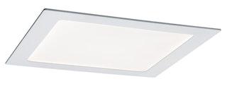 Paulmann SmartHome LED Einbaupanel eckig 3,5W mit Farblichtsteuerung