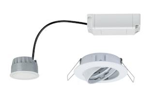 Paulmann SmartHome LED Einbauleuchte Coin 4,5W Weiß matt mit Weißlichtsteuerung