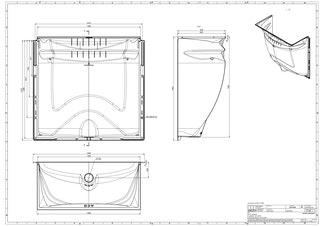 ACO Therm® Lichtschacht 600 mm (125 x 60 cm) höhenverstellbar