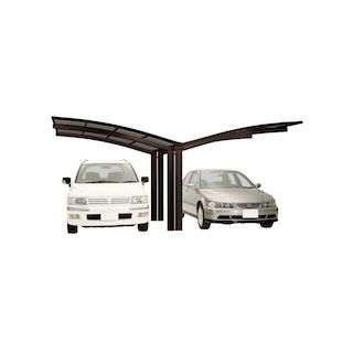 Ximax Carport Portoforte Typ 80 Y-Ausführung 495 x 542 cm