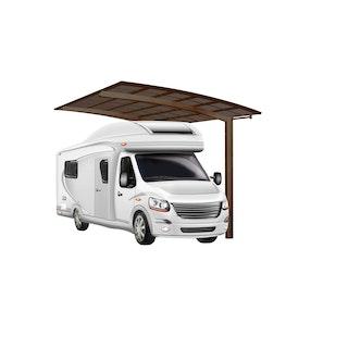 Ximax Carport Portoforte Typ 80 495 x 270 cm Caravan Ausführung