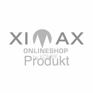 Ximax Carport Portoforte Typ 80 TANDEM-3056 in Edelstahl-Look Sonderbreite + Sonderlänge 11034x 3012 mm