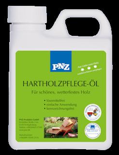 Hartholzpflege-Öl: teakfarben - 0.75 Liter
