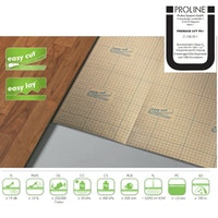 Proline PROBASE Trittschalldämmung LVT PS+ fold 1,5 Aqua Stop für Vinylböden