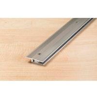 Proline PROCOVER Designfloor Übergangsprofil Aluminium eloxiert, 90cm