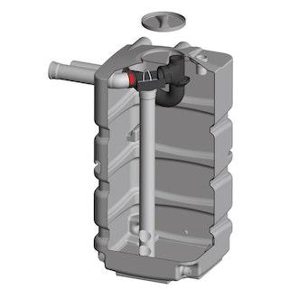 REWATEC Regenspeicher Kellertank Filtertank Komplettset