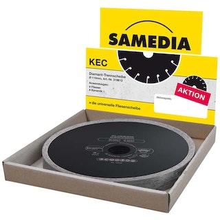 Samedia Profi-Diamanttrennscheibe TECHNIC KEC 10er Set