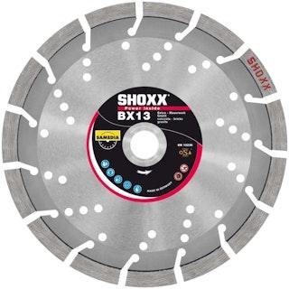 Samedia HighEnd-Diamanttrennscheibe SHOXX BX13