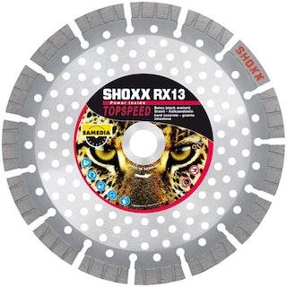 Samedia HighEnd-Diamanttrennscheibe SHOXX RX13