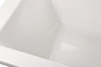 Acryl-Badewanne Linha, weiß