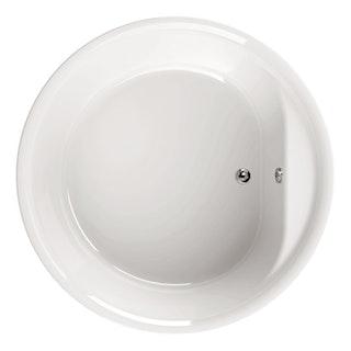 Acryl-Badewanne Elo Rund 160 cm, weiß