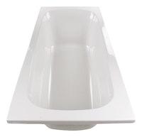 Acryl-Badewanne Meleo 180 x 80 cm, weiß