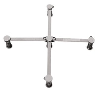 Sanitop Universal-Brausewannenfuss 87 - 115 mm
