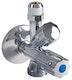 Sanitop Geräte-Kombi-Eckventil mit Rückflussverhinderer, 1/2 Zoll x ø 10 mm