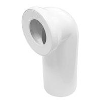 Sanitop Anschlussbogen für Stand-WC 90°, weiß