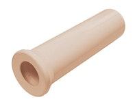 Sanitop Anschlussrohr für Stand-WC 400 mm beige