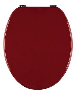 Sanitop WC-Sitz Venezia rot Holzkern