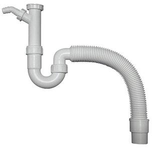Sanitop Spülen Röhrengeruchverschluss, 1 1/2 Zoll x ø 40/50 mm