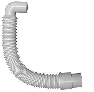 Sanitop Anschlussrohr flexibel für Spülen-Geruchverschluss