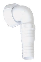 Sanitop Winkel-Schlauchverschraubung 90° für Geräte-Unterputz-Geruchverschlüsse