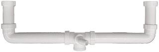 Sanitop Ablaufverbindung für Doppelspülen 1 1/2