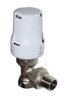 Sanitop Thermostat-Komplett-Set Eckform, 1/2 Zoll