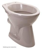 Sanitop Stand-WC, Tiefspüler waagerecht, manhattan