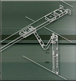 Schellenberg Sektionaltor-Beschlag für DRIVE