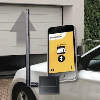 Schellenberg Smartphone Garagentoröffner PLUS