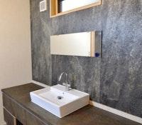 Schrankwand-klein-bad