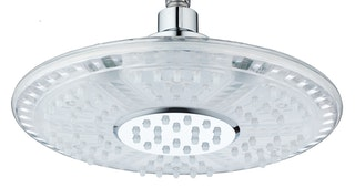 LED-Kopfbrause GALAXIS, Chrom/Transparent
