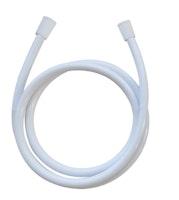 Brauseschlauch HOGAFLEX Kunststoff 150 cm Wasserspardichtung Weiß