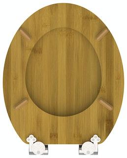 Bambus WC-Sitz DARK