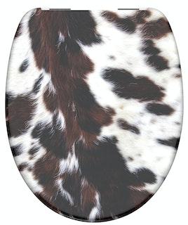 Duroplast  WC-Sitz COW SKIN