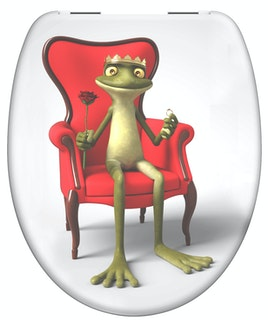 Duroplast  WC-Sitz FROG KING
