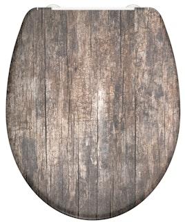 Duroplast WC-Sitz OLD WOOD