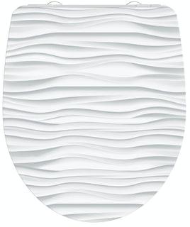Duroplast HG WC-Sitz WHITE WAVE
