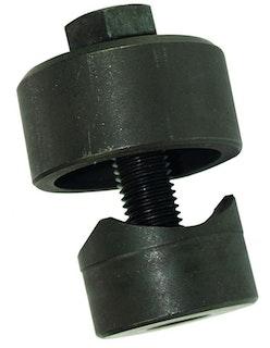 Schraublochstanze für 35 mm Lochgröße, Schwarz