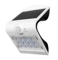Shada LED Solarstrahler V Innovation, weiß, Bewegungssensor, IP65, 220Lm, Li-ion Akku (18650) wechselbar