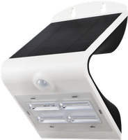 Shada LED Solarstrahler V Innovation, weiß, Bewegungssensor, IP65, 400Lm, Li-ion Akku (18650) wechselbar