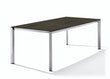 Sieger Tisch 220 x 100 cm Aluminium graphit / HPL Granit