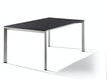 Sieger Ausziehtisch 180/235 x 100 cm Aluminium graphit / HPL Zement anthrazit