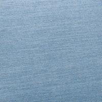 Sieger Auflage für Stapelsessel hoch ca. 107 x 49 x 4 cm, 60 % Baumwolle / 40 % Polyester hellblau