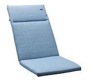 Sieger Auflage für Klappsessel ca. 121 x 49 x 4 cm, 60 % Baumwolle / 40 % Polyester hellblau