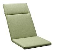 Sieger Auflage für Klappsessel ca. 121 x 49 x 4 cm, 60 % Baumwolle / 40 % Polyester grün